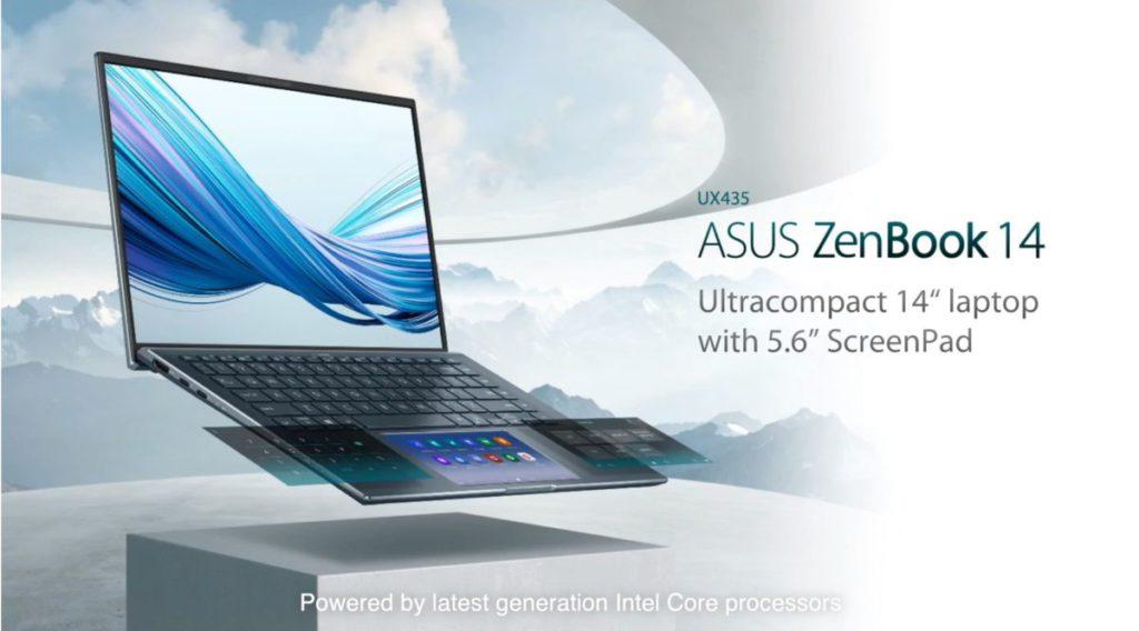 重視高效能的 ZenBook 14( UX435EG )。
