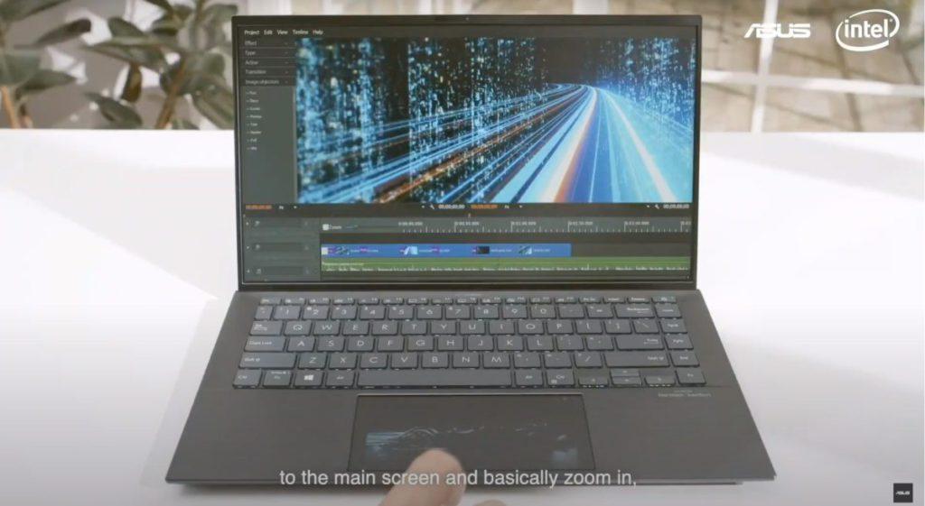 Zenbook Pro 15 同樣配有 ScreenPad。