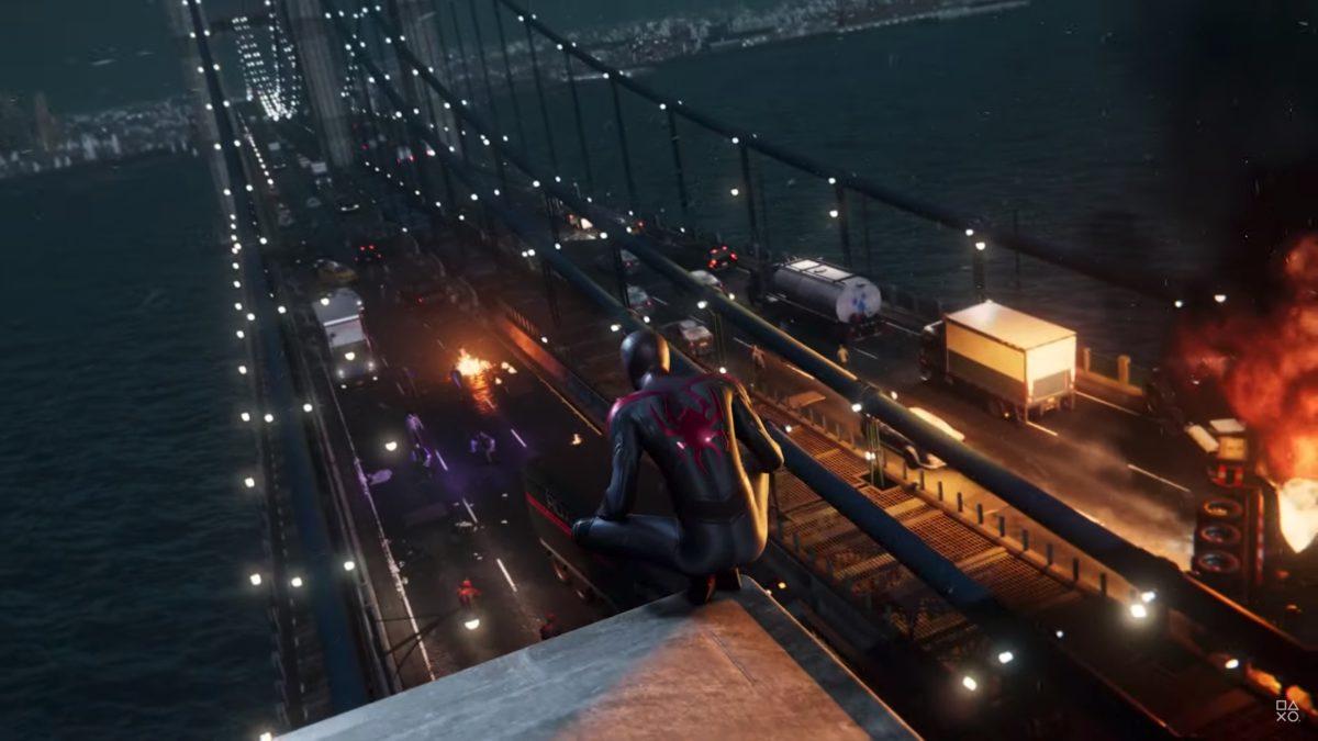 《 Marvel 蜘蛛俠: Miles Morales 》戰鬥場面浩大。
