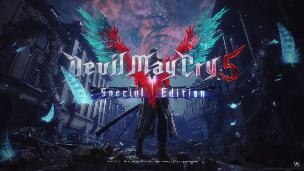 《 Devil May Cry 5 特別版》數位版將與 PS5 同步推出。