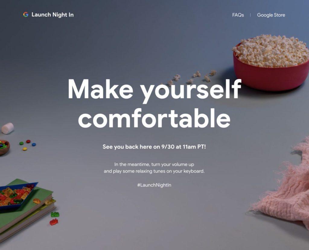 Google 今年發表會名為 Launch Night In ,喻意大家安坐家中欣賞 Google 新產品發表。為甚麼上午 11 時的活動會以晚上為主題呢?