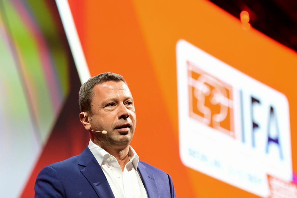 IFA 執行主席 Jens Heithecker 希望 2021 年的 IFA 能回復正常。
