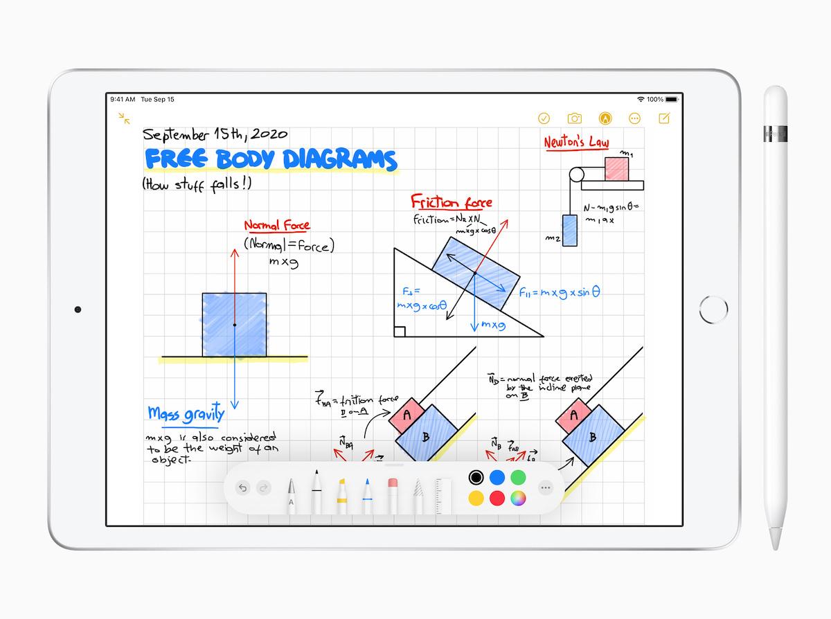 配合兩款新 iPad 推出, iPadOS 14 等主要 Apple OS 將於明日正式推出,提供手寫字當鍵入字的處理能力。