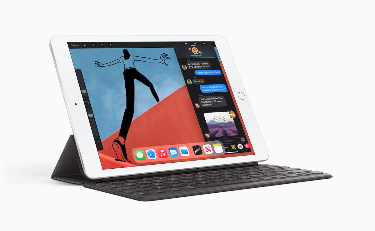 iPad 8 代的主要改動是將處理器升級至 A12 仿生晶片,其他規格就如 7 代一樣。