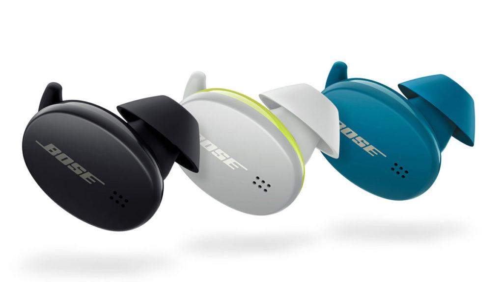 Bose Sport Earbuds 備有黑、海藍及冰川白三種顏色。