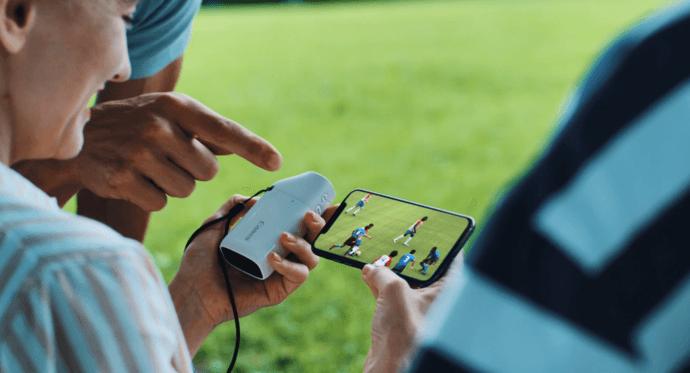 透過 Camera Connect 將相片或影片分享到手機