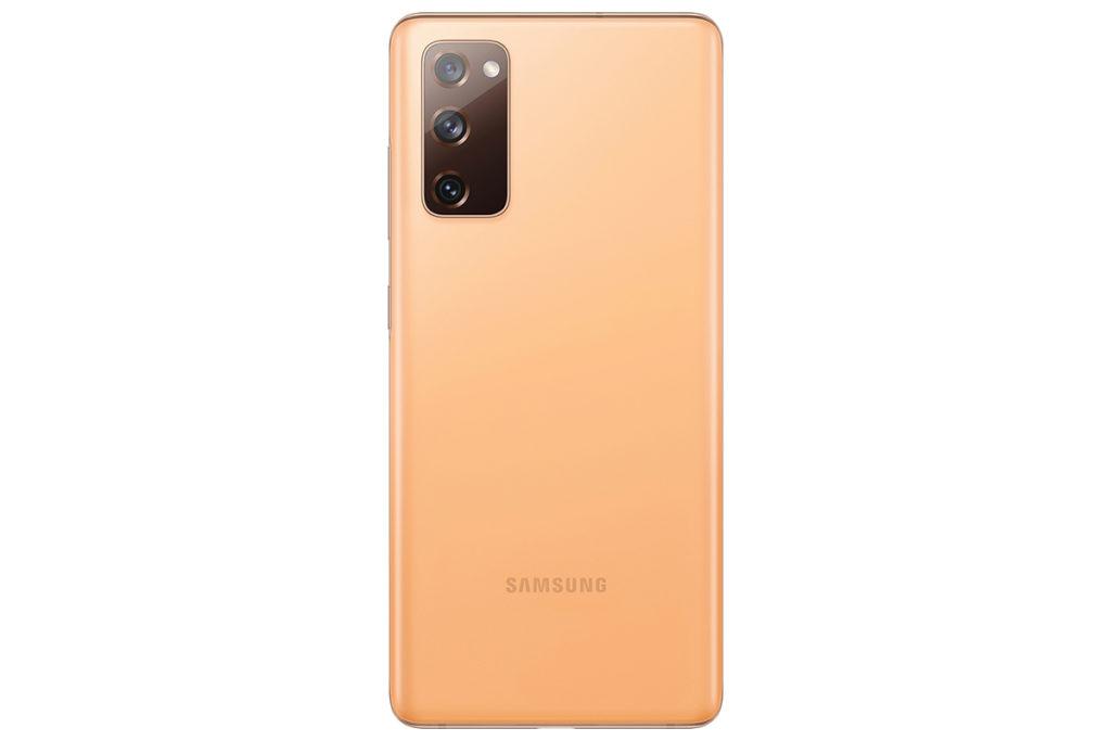 機背布局與 Galaxy Note20 近似,但四角較為圓渾。