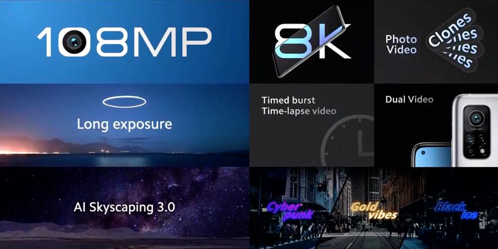 新增了Cyberpunk、Gold vibes和Black ice三種新的相片濾鏡。