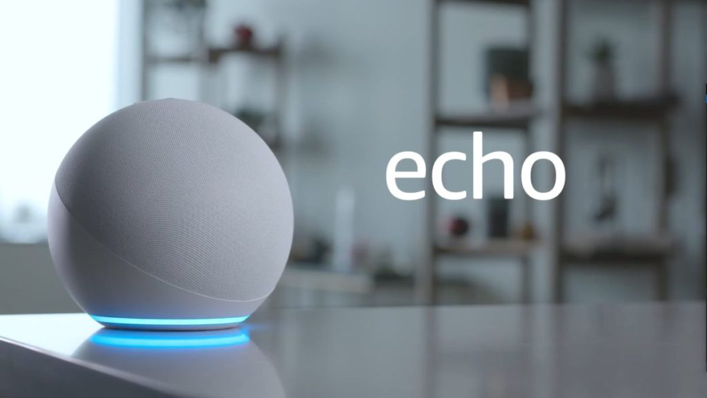 新款 Echo 智能喇叭是球型的。
