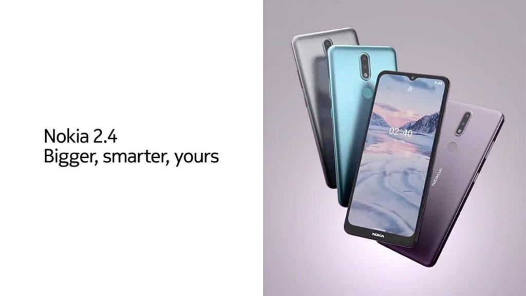 Nokia 2.4 使用MTK Helio P22 處理器、6.5 吋 HD+ 屏幕及 8MP + 5MP 雙鏡主攝。