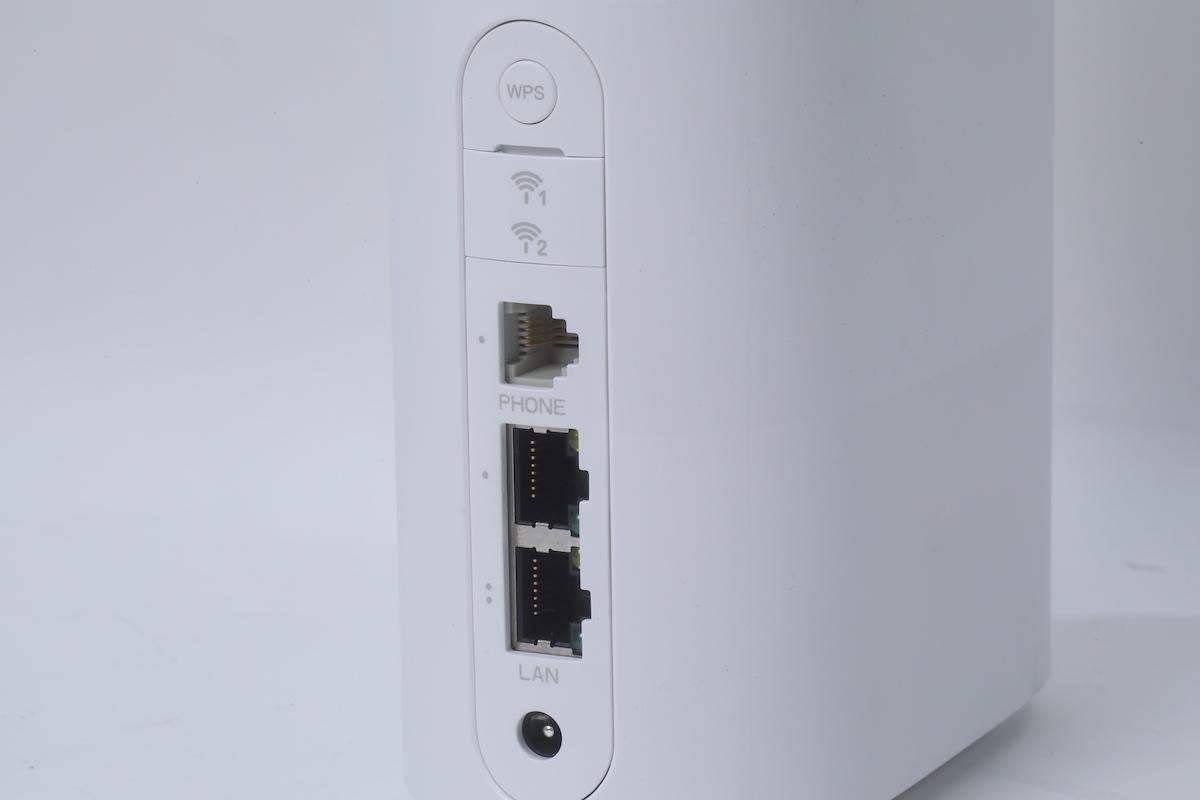路由器背面有兩個 LAN 頭,可連接其他裝置使用。