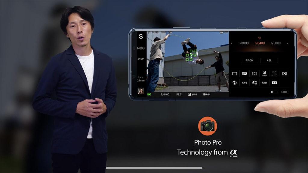 亦有 Photography Pro 介面,提供近似 Alpha 相機拍攝體驗。