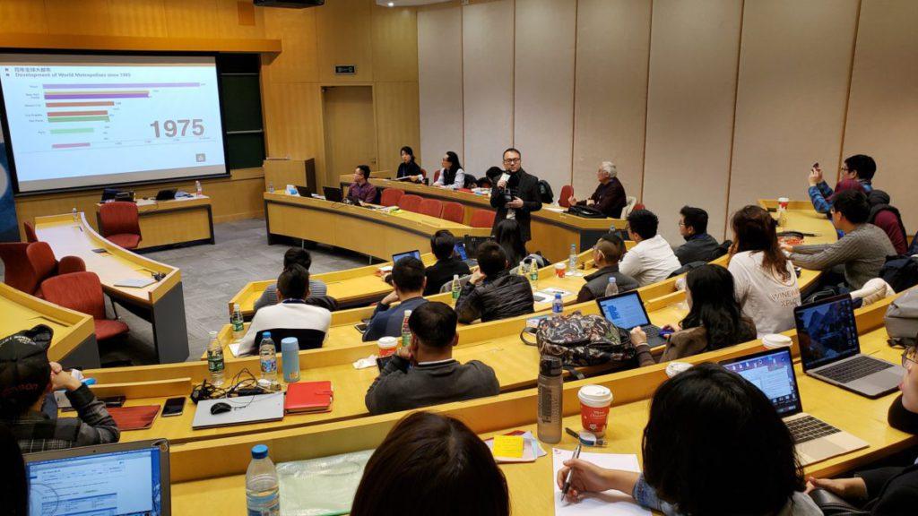 去年 B4B Energiser Week 入 圍隊伍於利豐集團上海總部參觀