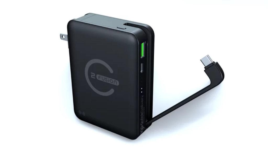 充電器本身更自帶 USB-C 線,同樣支援 PD 3.0 65W 快速