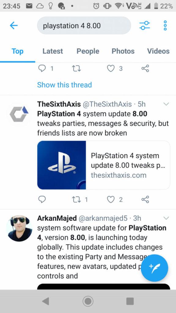 PS4 系統更新發現出現故障