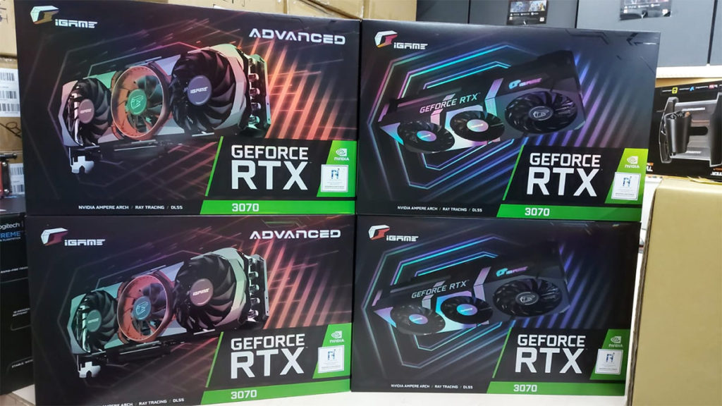 Colorful iGame GeForce RTX 3070