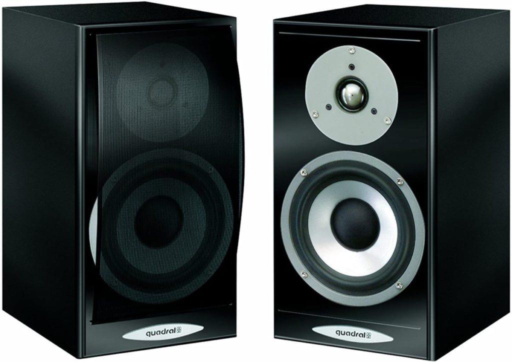 德國Quardral Argentum 02.1二路低音反射式書架喇叭,減價後$1,990就買到。