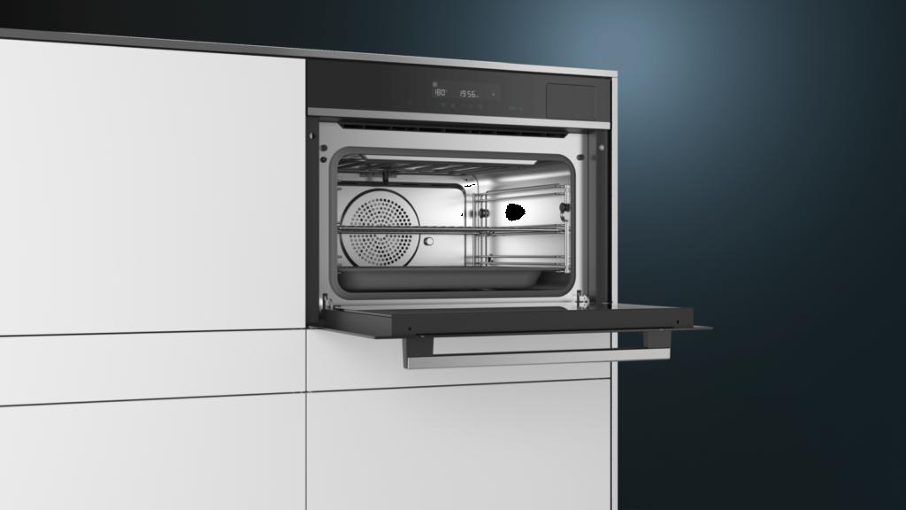 45L 的特大空間,足夠同時蒸煮多碟菜式或糕點
