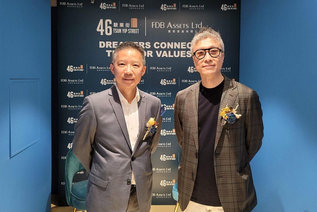 豐展資產有限公司董事兼創辦人吳建韶表示,公司以創意科技為建築意念,而且看好投入智慧城市項目,便於 2019 年研究如何利用 5G 融合地產項目,因此找來中國移動香港合作,將駿業街 46 號建構成 5G 全覆蓋,成為首個以資訊科技為基礎概念的地產項目。