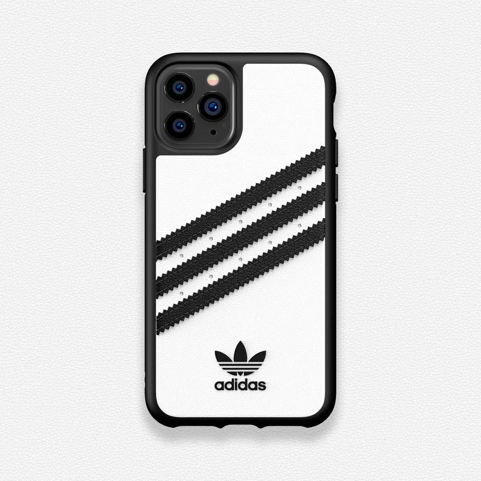7.) Adidas Originals Moulded Case PU 保護殼 售價 :HK$ 278 (黑底白間 / 白底黑間)