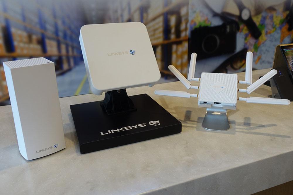 Linksys 5G Mobile Hospot FGHSAX1800 7