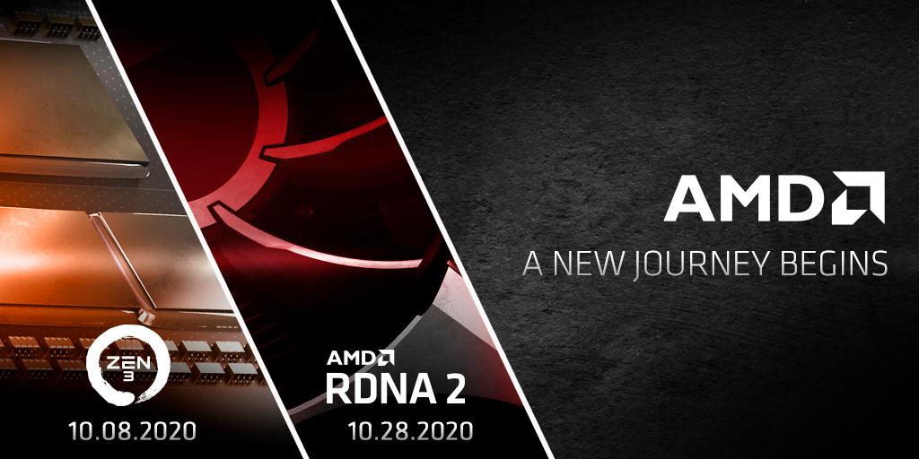 AMD 將會於今晚午夜發表最新的 Zen3 架構 Ryzen 5000 系列 CPU 。
