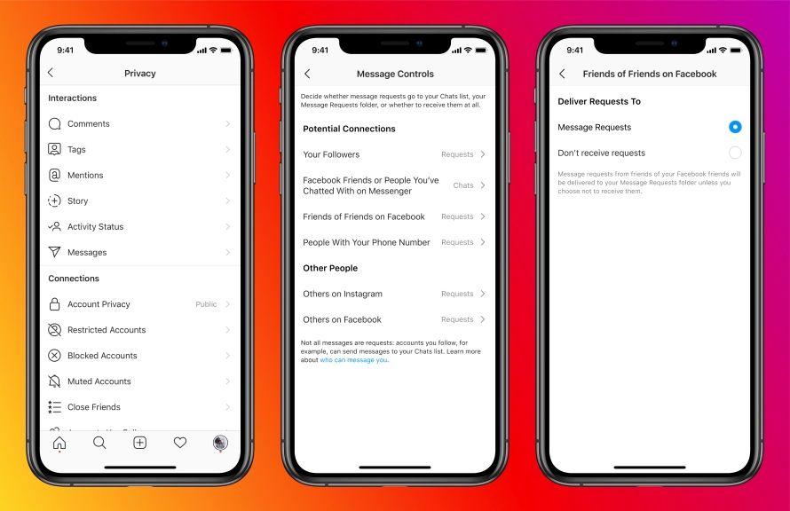 Facebook 會提供新工具讓用戶控制哪些人可以發送信息給用戶。