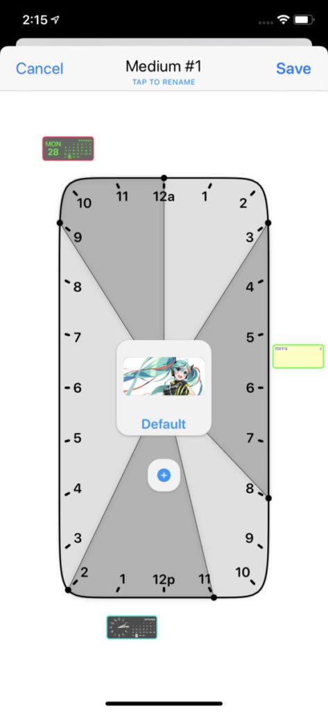 Timed Widget 是 Widgetsmith 一大特色,可以設定不同時間使用不同小工具,有點像智慧型堆疊。