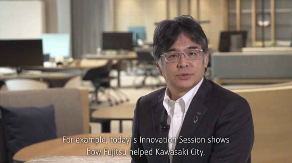 時田隆仁表示,富士通的超級電腦協助日本政府研究武漢肺炎。