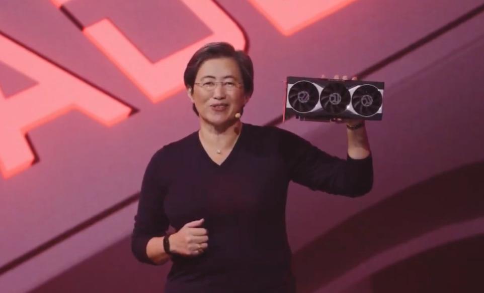 現場展出 Radeon RX 6000 實卡。
