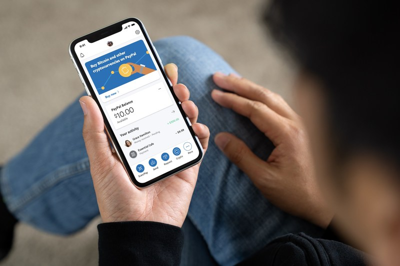 美國 PayPal 可透過 PayPal 帳戶直接買賣和持有四種加密貨幣。