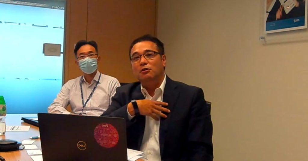 鄭國強表示,武漢肺炎加速銀行採用監管科技,不只虛擬銀行,傳統銀行需求更大。
