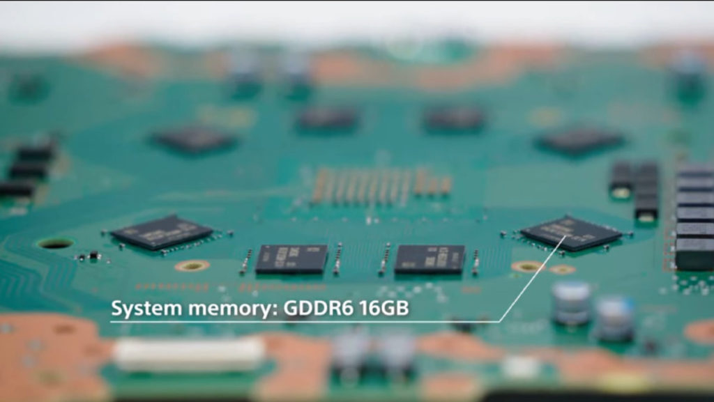 16GB GDDR 6 記憶體圍繞著 CPU 排放,確保每條 RAM Channel 距離也是一樣和最短。
