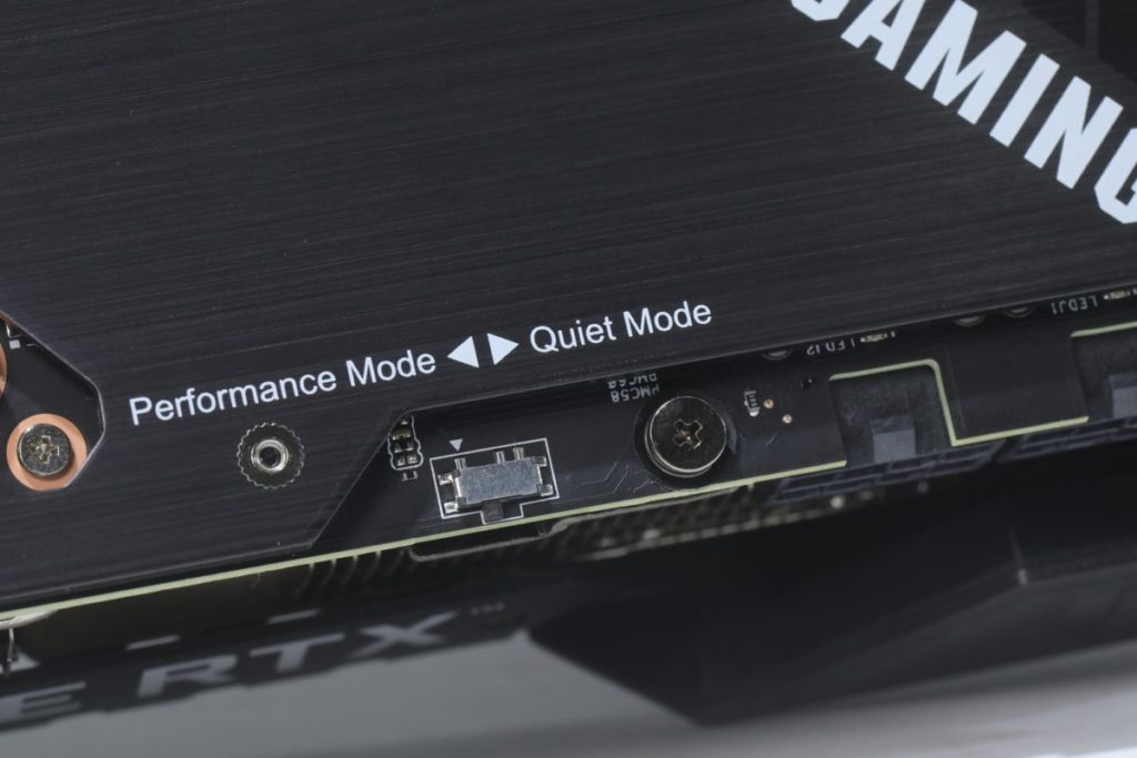 可以DIP Switch在Performance Mode與Quiet Mode之間砌換。