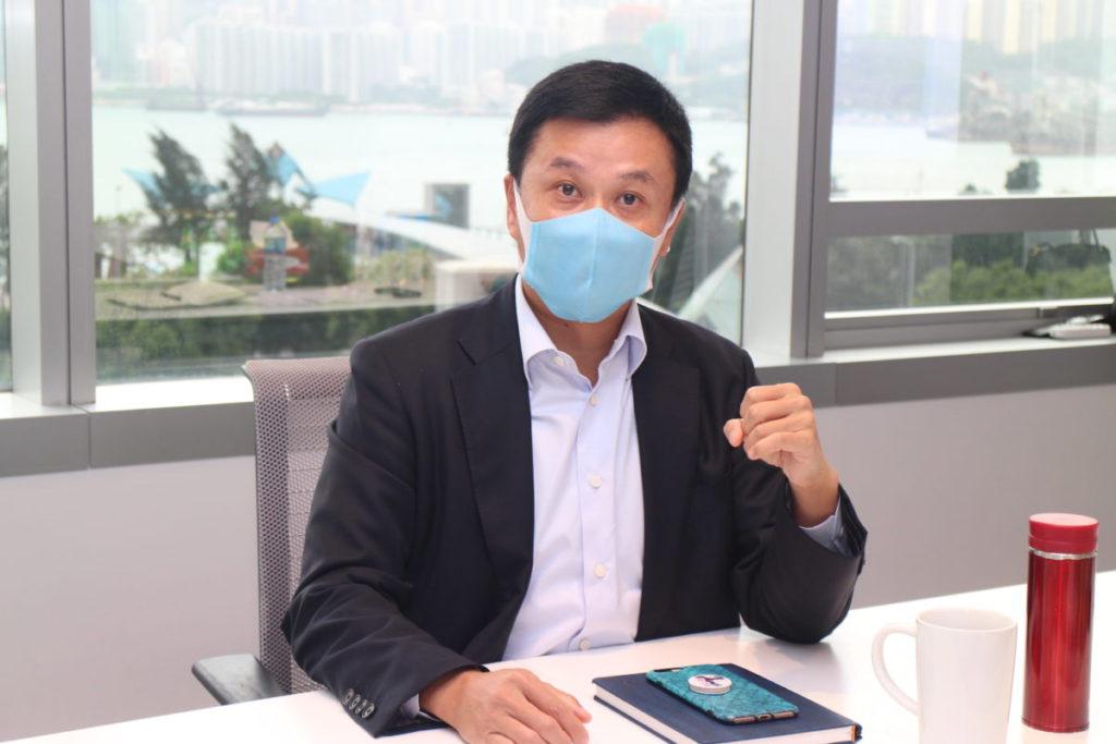 藍建基稱,香港企業正在加速採用數碼基建。