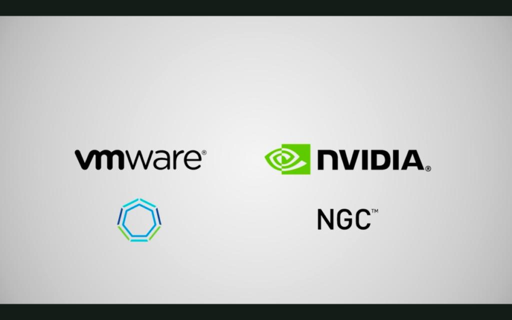 同樣建基於 K8s 的 VMware Tanzu 和 NVIDIA NGC ,在虛擬化基建架構上整合,企業應用程式可加入 GPU 選項,加快運算人工智能。