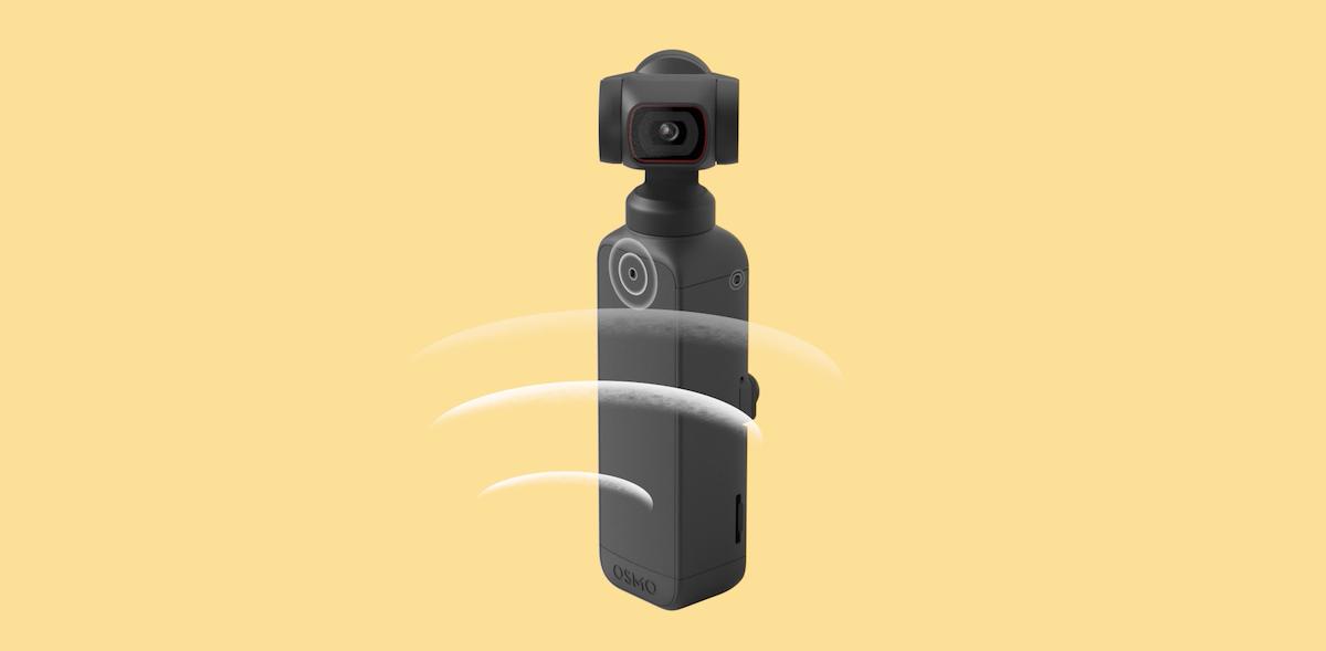Pocket 2 備有自家的矩陣式立體聲系統,由機身內置四方向收音的咪高峰組成。
