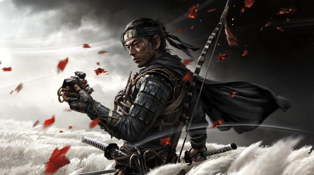 近期的 PS4 大作《對馬戰鬼》亦可以在 PS5 上遊玩。