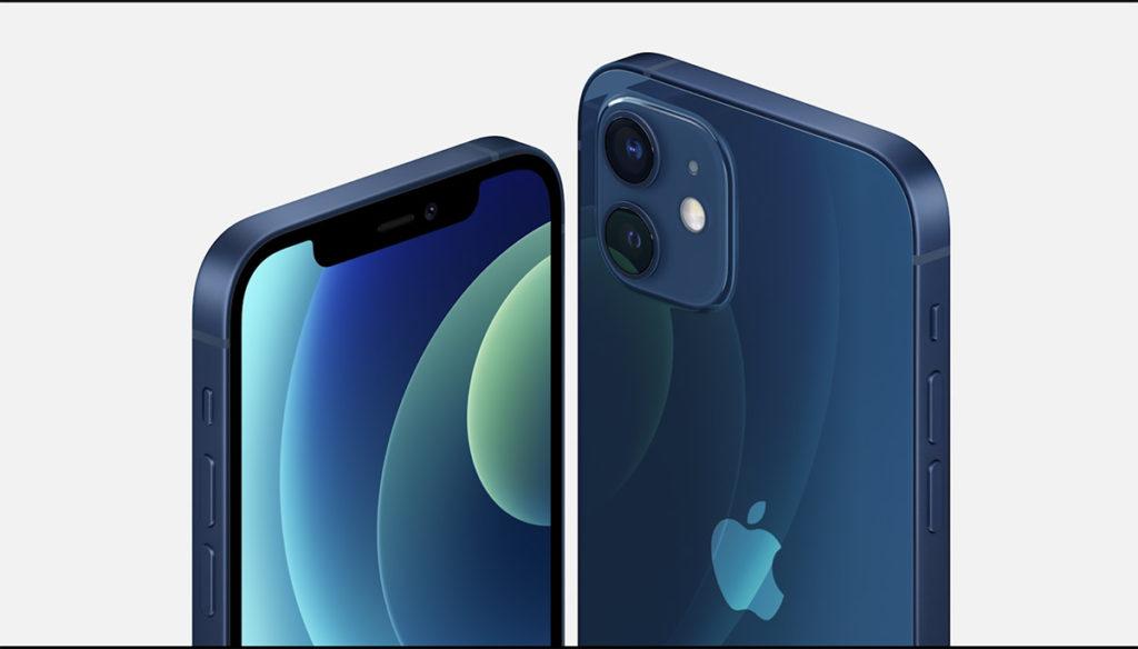 iPhone 12 與 iPhone 12 Mini 筆直的鋁金屬機框令機身觀感更吸引。