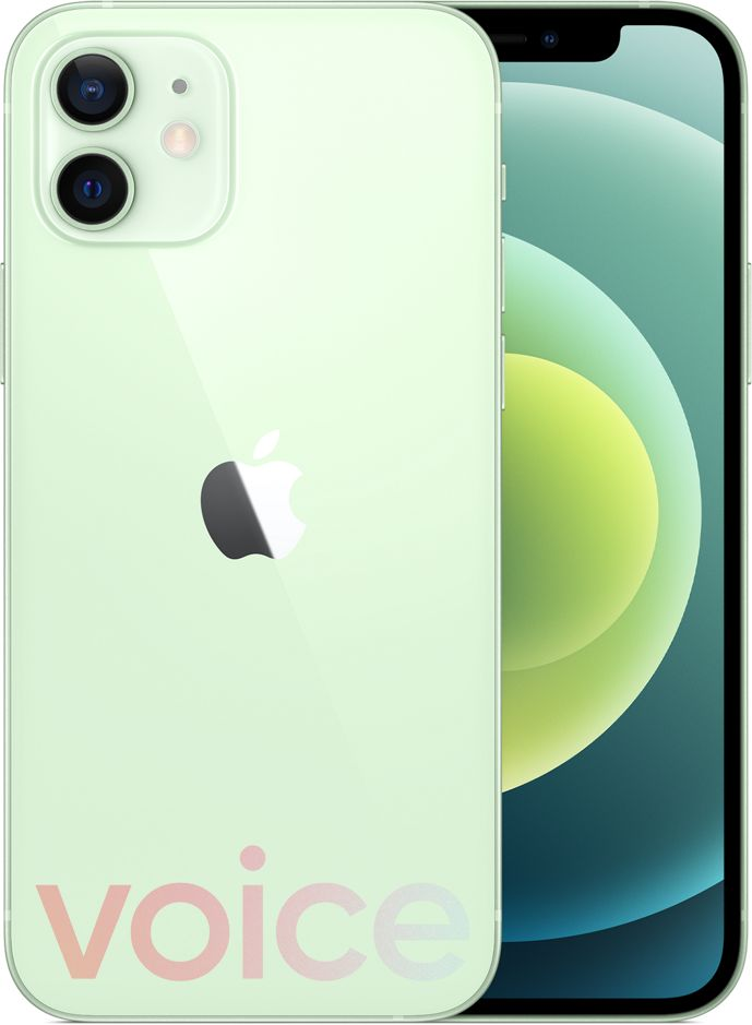 iPhone 12 綠