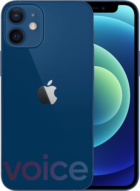 iPhone 12 mini 藍