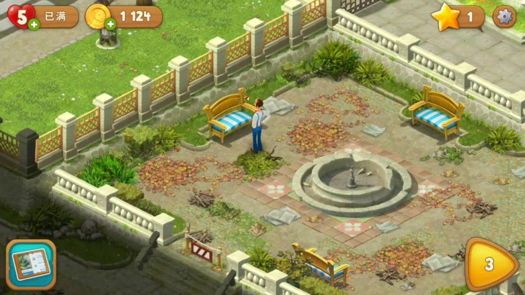 《夢幻花園》、《夢幻家園》實際是一款修復花園為題包裝的《 Candy Crush 》類遊戲。