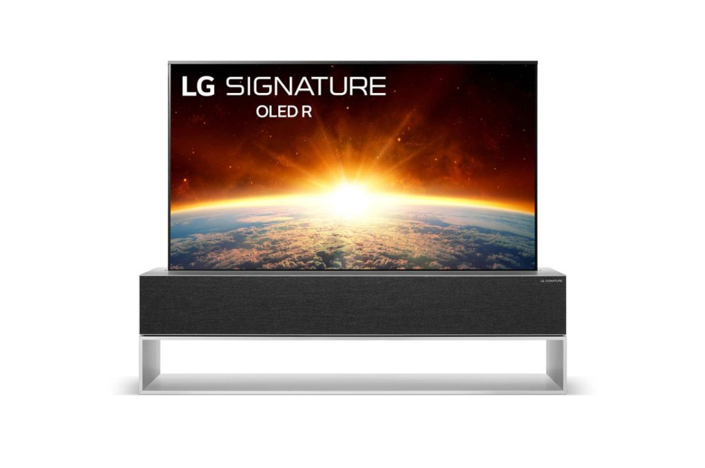 售價高達港幣 65萬的 LG Signatures OLED TV R