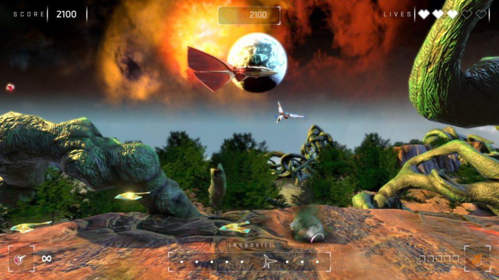 官方還刻意在遊戲介紹中提到「幸運的是這逃生艙還附帶幾個炮座」,十分搞笑。