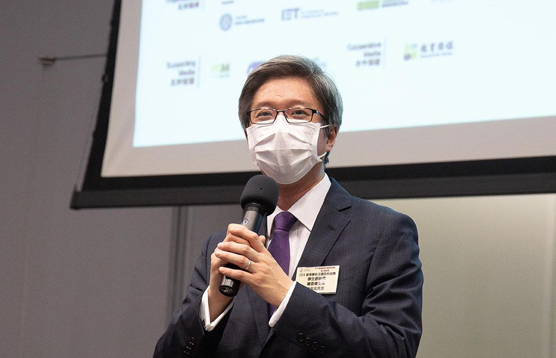 籌委會主席梅志文先生訓勉