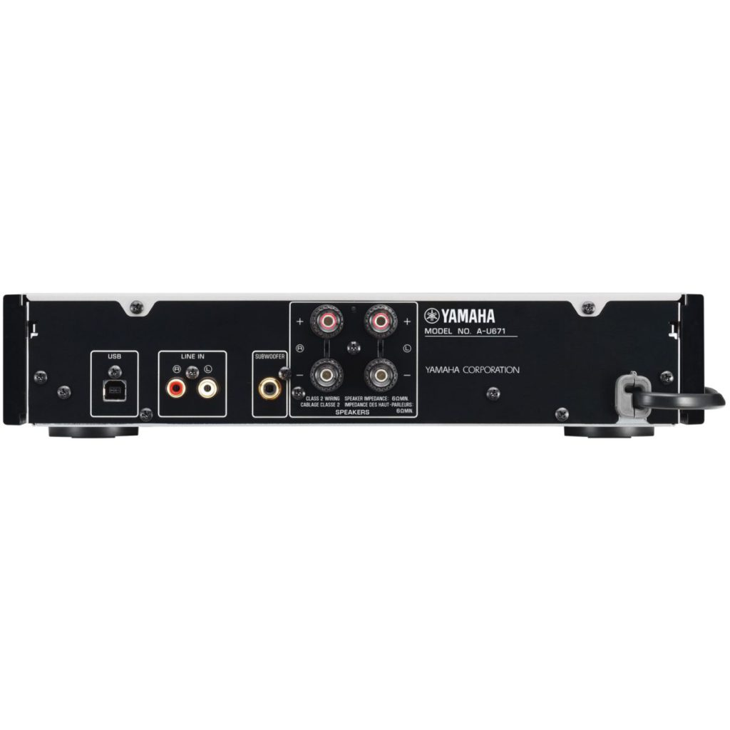 Yamaha A-U671 綜合擴音機