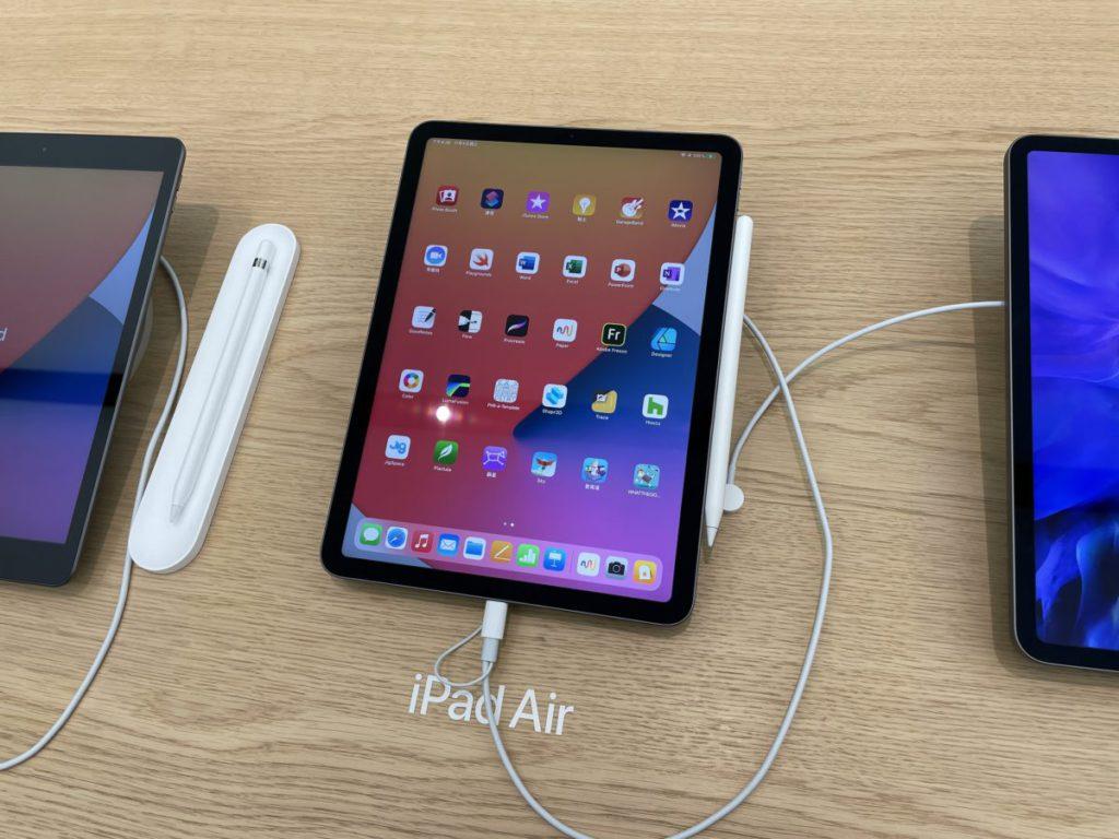 iPad Air 第四代 Wi-Fi 版本在各區 Apple Store 基本上全線缺貨。