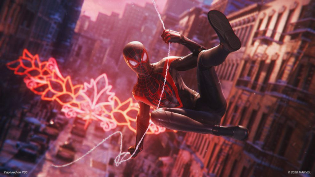 【 PS5 獨佔】 Marvel's Spider-Man: Miles Morales,支援:4K 、 Ray Tracing( 30fps )、HDR 、 PS4 版可免費升級至 PS5 版