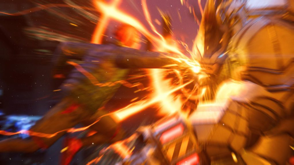 「 保真度」模式下使出毒液拳的畫面十分搶眼,PS4版本就未有此表現。