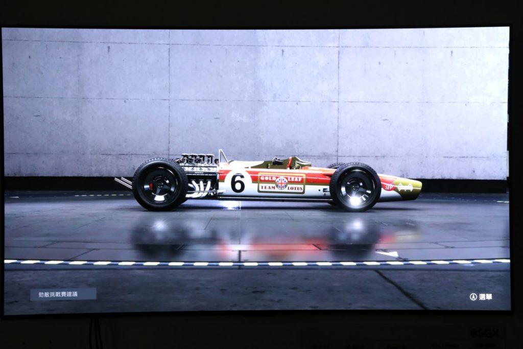 圖中所見賽車的倒影是實時運算,並非貼圖。